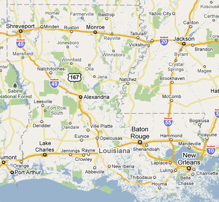 Louisiana State & USA Cities - National Loval Global - World Business-2-Business