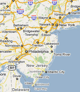 New Jersey State & USA Cities - National Loval Global - World Business-2-Business